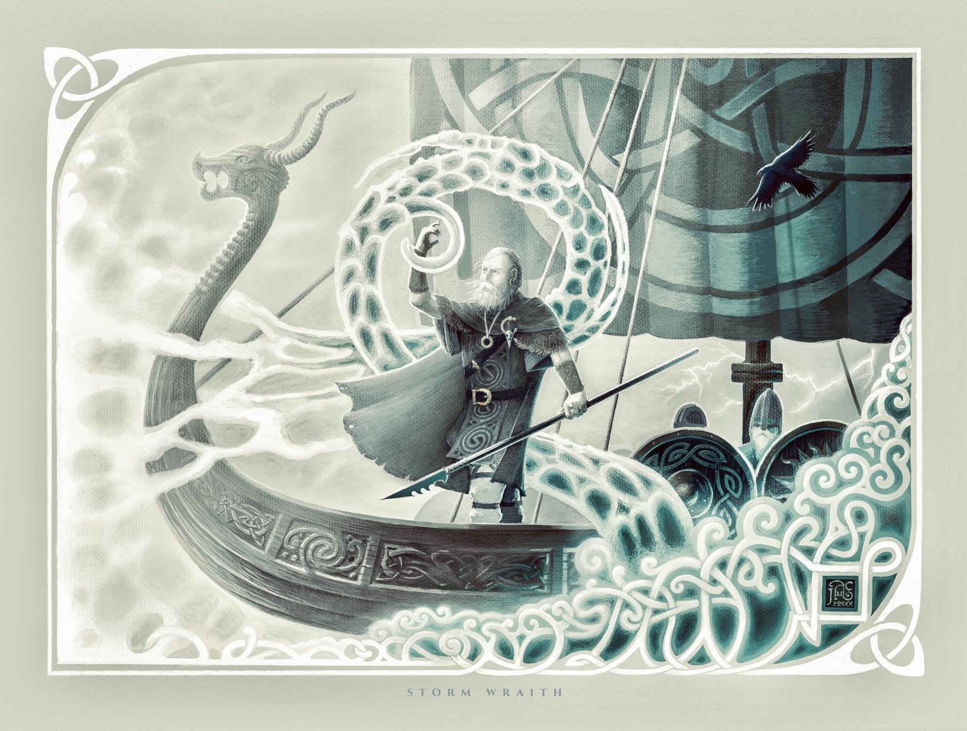 Storm Wraith Artwork by James Adam Cartwright