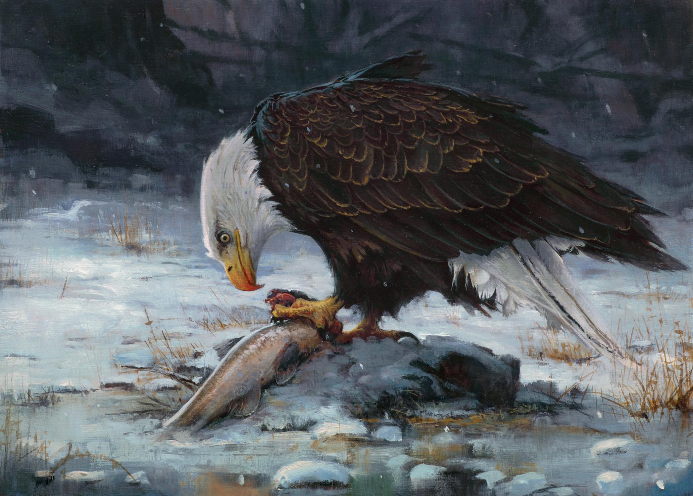 Song of Winter Artwork by Jean-Baptiste Monge