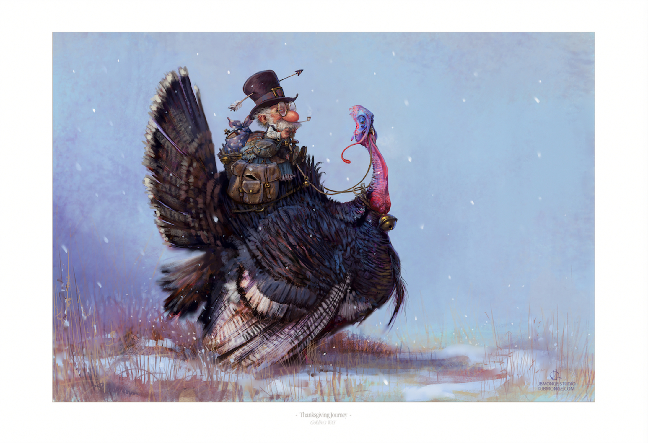 Turkey Journey Artwork by Jean-Baptiste Monge