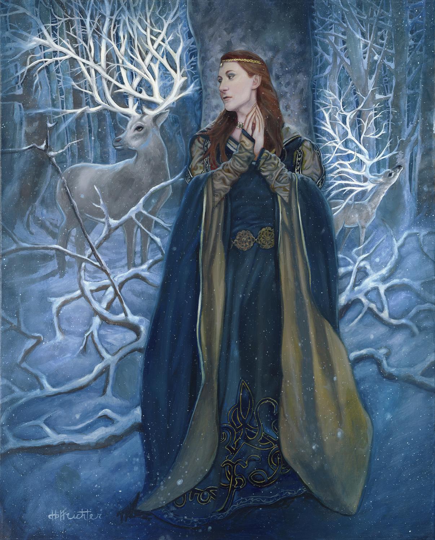 The Enchanted Woods Artwork by David Hoffrichter