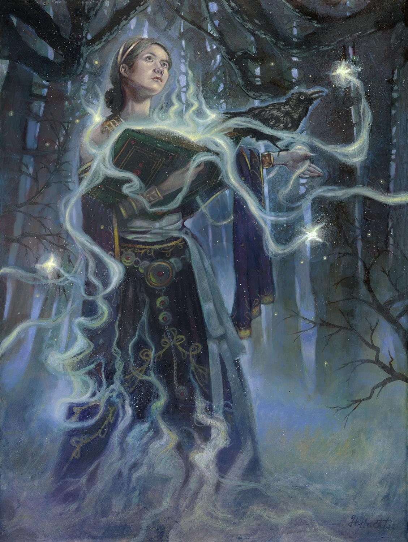 The Wish of Morgana Artwork by David Hoffrichter