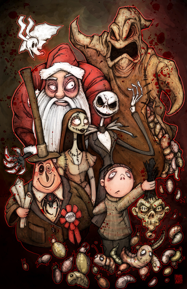 Nightmare Before Christmas Artwork | quotes.lol-rofl.com