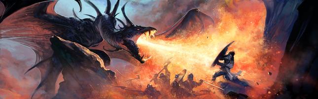 Dragon's Fury Artwork by Ben Wootten