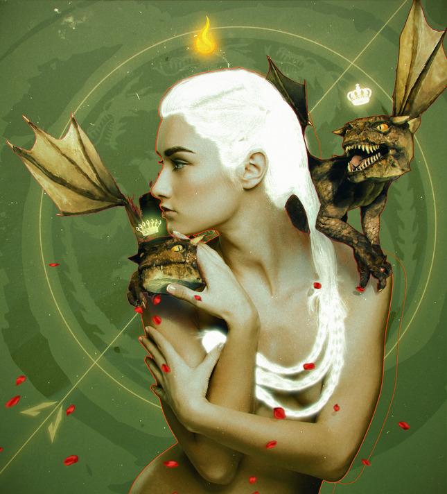 Dragonwhisperer II Artwork by Oliver Wetter